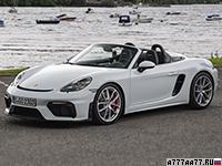 2020 Porsche 718 Spyder (982)