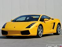 2003 Lamborghini Gallardo = 309 км/ч. 493 л.с. 4.3 сек.