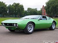 1967 De Tomaso Mangusta = 249 км/ч. 306 л.с. 4.9 сек.