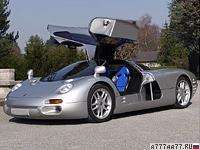 1993 Isdera Commendatore 112i = 342 км/ч. 408 л.с. 4.7 сек.