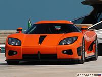 2006 Koenigsegg CCX = 395 км/ч. 817 л.с. 3.2 сек.