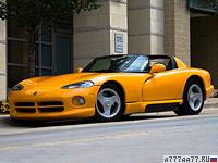 1992 Dodge Viper RT/10 = 260 км/ч. 406 л.с. 4.7 сек.