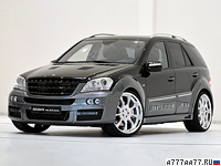 2009 Brabus ML 63 Biturbo Mercedes-Benz ML 63 AMG (W164)  = 310 км/ч. 650 л.с. 4.2 сек.