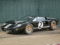 1966 Ford GT40 Mk II = 346 км/ч. 485 л.с. 5.2 сек.