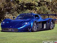 2006 Maserati MC12 Corsa = 326 км/ч. 755 л.с. 2.9 сек.