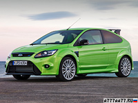2009 Ford Focus RS = 260 км/ч. 305 л.с. 5.9 сек.