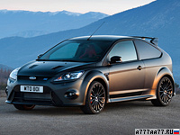 2011 Ford Focus RS500 = 265 км/ч. 350 л.с. 5.6 сек.