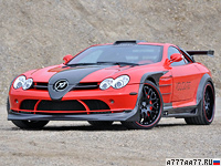 2009 Mercedes-Benz SLR McLaren Hamann Volcano = 348 км/ч. 700 л.с. 3.6 сек.