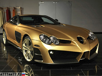 2008 Mercedes-Benz SLR McLaren Mansory Renovatio = 340 км/ч. 690 л.с. 3 сек.
