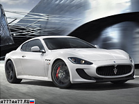 2011 Maserati GranTurismo MC Stradale = 301 км/ч. 450 л.с. 4.6 сек.