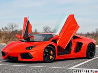 2011 Lamborghini Aventador LP700-4 = 350 км/ч. 700 л.с. 2.9 сек.