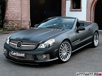 2009 Carlsson CK63 RS Mercedes-Benz SL 63 AMG = 325 км/ч. 600 л.с. 4.1 сек.