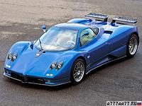 2002 Pagani Zonda C12 S 7.3 = 354 км/ч. 555 л.с. 3.7 сек.