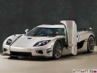 2010 Koenigsegg CCXR Trevita = 402 км/ч. 1032 л.с. 2.9 сек.