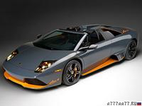 2009 Lamborghini Murcielago LP650-4 Roadster = 330 км/ч. 650 л.с. 3.4 сек.