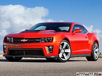 2012 Chevrolet Camaro ZL1 = 307 км/ч. 588 л.с. 4.1 сек.