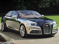 2009 Bugatti 16C Galibier Concept = 350 км/ч. 800 л.с. 3 сек.