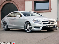 2011 Carlsson CK63 RS Mercedes-Benz CLS 63 AMG = 320 км/ч. 649 л.с. 4.1 сек.