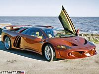 2000 Lamborghini  Coatl Special = 385 км/ч. 645 л.с. 3.5 сек.