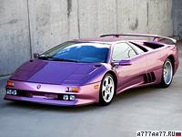 1994 Lamborghini Diablo SE30 = 338 км/ч. 527 л.с. 4 сек.