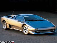 1993 Lamborghini Diablo VT = 325 км/ч. 492 л.с. 4.1 сек.