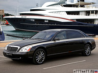 2009 Maybach 62 Zeppelin  = 250 км/ч. 640 л.с. 5.1 сек.