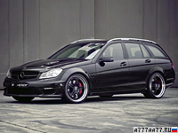 2011 Mercedes-Benz C63 AMG Kicherer C63 T Supersport = 320 км/ч. 550 л.с. 4.2 сек.