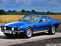 1989 Aston Martin V8 Coupe = 241 км/ч. 305 л.с. 6.8 сек.
