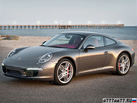 2012 Porsche 911 Carrera S = 302 км/ч. 400 л.с. 4.1 сек.