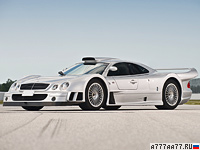 1998 Mercedes-Benz CLK GTR AMG Coupe = 335 км/ч. 612 л.с. 3.5 сек.