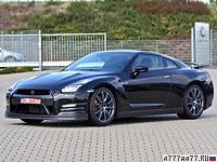 2012 Nissan GT-R = 315 км/ч. 550 л.с. 2.7 сек.