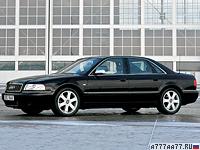 1996 Audi S8 = 250 км/ч. 340 л.с. 5 сек.
