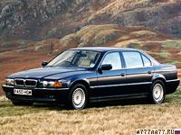 1994 BMW 750iL (E38) = 250 км/ч. 330 л.с. 6.5 сек.