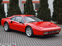 1985 Ferrari 328 GTB = 267 км/ч. 274 л.с. 6.4 сек.