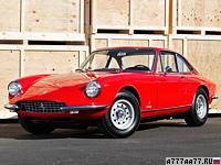 1968 Ferrari 365 GTC = 243 км/ч. 320 л.с. 6.3 сек.