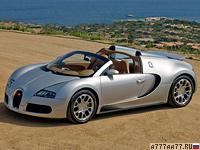 2008 Bugatti Veyron 16.4 Grand Sport = 407 км/ч. 1001 л.с. 2.7 сек.