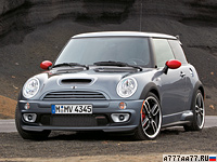 2006 Mini Cooper S John Cooper Works GP (R53) = 236 км/ч. 218 л.с. 6 сек.