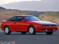 1986 Toyota Celica GT-Four (ST165) generation IV = 220 км/ч. 175 л.с. 7.9 сек.