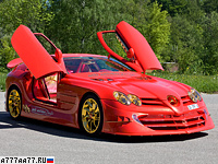 2011 Mercedes-Benz SLR McLaren 999 Red Gold Dream Ueli Anliker = 340 км/ч. 999 л.с. 3 сек.