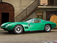 1966 Bizzarrini 5300 GT Strada = 275 км/ч. 355 л.с. 6.2 сек.
