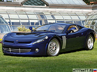 2006 Bizzarrini GTS 4.1 V Ghepardo Concept = 360 км/ч. 550 л.с. 3.7 сек.