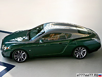 2008 Bentley Continental GTZ Zagato = 322 км/ч. 610 л.с. 4.5 сек.