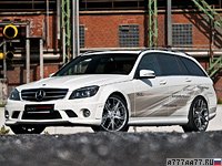 2012 Mercedes-Benz C 63 AMG Edo Competition T-Model = 343 км/ч. 600 л.с. 4.1 сек.