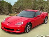 2006 Chevrolet Corvette Z06 = 318 км/ч. 512 л.с. 3.7 сек.