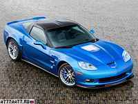 2008 Chevrolet Corvette ZR1 (C6) = 330 км/ч. 647 л.с. 3.4 сек.