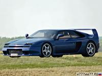 1994 Venturi 400 GT = 290 км/ч. 408 л.с. 4.2 сек.