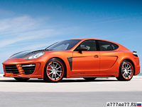 2012 Porsche Panamera TopCar Stingray GTR Orange = 325 км/ч. 700 л.с. 3.6 сек.