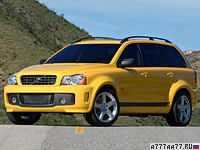 2005 Volvo XC90 Supercharged V8 = 250 км/ч. 500 л.с. 5.2 сек.