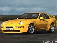 1993 Porsche 968 Turbo S = 283 км/ч. 305 л.с. 4.9 сек.
