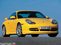 1999 Porsche 911 GT3 (996) = 302 км/ч. 360 л.с. 4.8 сек.